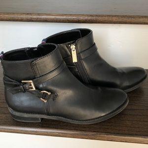 Tommy Hilfiger Ankle Boots Black Zip Up 10 M